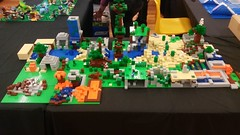 Farmborough Brick Fun Day Minecraft SydLUG build (I Scream Clone) Tags: lego minecraft activity build sydlug