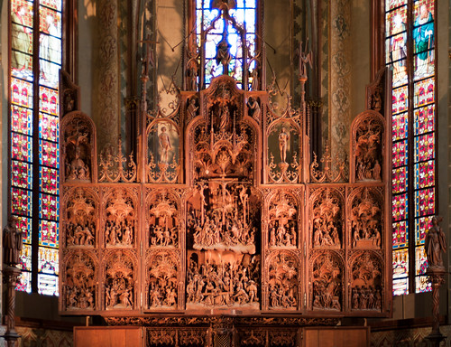 Altarpiece of the St. Petri-Dom, Schleswig, Germany