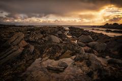 landscape (Steven Dijkshoorn) Tags: landscape landschap schotland scotland sea water long exposure land stones kust st monans