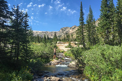 Hey Jeff Probst, I'm practicing my Survivor skills (GlobalGoebel) Tags: iphone iphone6 iphoneography grand teton national park wyoming alta unitedstates us survivor chanloh river stream buff wannabe north fork cascade canyon tetoncresttrail