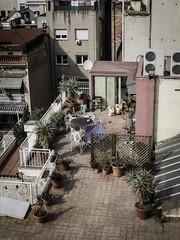 Roofs and terraces (KyllerCG) Tags: barcelona casamil catalonia catalunya espanha espaa europa europe lapedrera passeigdegrcia spain cityscape leixample urbanexploration