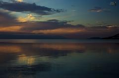; (theseustroizinian) Tags: greece greek goldenhours hellas hellenic seaside sea sunset simplysuperb seasunandclouds seascape sky peloponnese