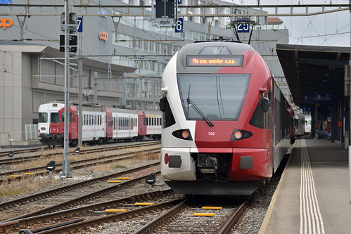 Railroad trip to Switzerland