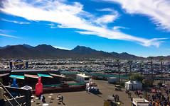 Another spectacular Arizona scene (Brian Just Got Back From...) Tags: nascar racing phoenix arizona pir phoenixinternationalraceway estrella mountains