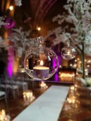 Wedding Aisle (35mmMan) Tags: huaweip9plus android cameraphone peckforton castle tarporley cheshire wedding dof candle tealight glass