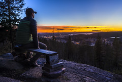 Rverkollen (Jorn Eriksson) Tags: lillomarka oslo marka rverkollen grorud groruddalen oslomarka norge hst solnedgang