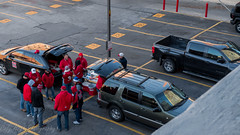 Huskers Tailgating (Codydownhill) Tags: football game huskers big red sports portrait trophy brother dad