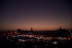 piazza Marrakech (giulio.pedretti) Tags: marrakech marocco sunset market mosque