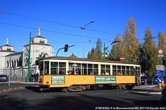 ATM 1635 (Davuz95) Tags: tram milano atm carello 1800 vecchio linea