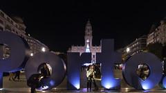 F4916 ~ Porto. (Teresa Teixeira) Tags: porto christmas aliados nightshot teresateixeira