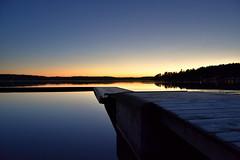 Grisslinge havsbad. (Papa Razzi1) Tags: 8342 2016 341365 grisslinge havsbad beach winter december twilight sea sweden