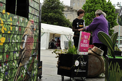 GrowWildStall_29_Fotonow (FOTONOW (CIC)) Tags: city flowers wild people kew gardens square community stones centre grow seed plymouth seeds stepping council guildhall