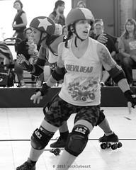 shevil_vs_belles_L1060408 1 (nocklebeast) Tags: ca usa rollerderby rollergirls richmond skates bayareaderbygirls badg sfshevildead richmondwreckingbelles cranewaypavilion va0001991072 effectivedateofregistrationaugust152015 va1991072