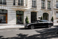 Xenatec. (Nino - www.thelittlespotters.fr) Tags: family paris france car modern hotel amazing royal palace luxury qatar classy monceau maybach 57sc xenatec leroyalmonceau