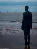 Formby beech & Gormley statues (49 of 71) (andyyoung37) Tags: sea silhouette reflections anotherplace gormleystatue crosbybeech