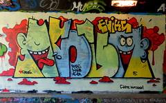 Graffiti Overschie (oerendhard1) Tags: urban streetart art graffiti rotterdam overschie putas asem tunneltje atwb eviks