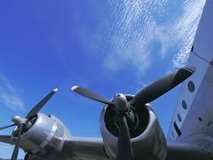 Doug (debisuke) Tags: sky lumix aircraft aviation australia douglas hars illawarra dc4 714mmf4 dmcgx1