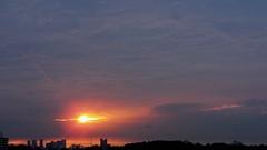 #3637 sunrise from sixth floor (Nemo's great uncle) Tags: sunrise hospital geotagged 東京 病院 夜明け 世田谷区 setagayaku tōkyō kamiyōga kanchu 関東中央病院 関中 上用賀六丁目 geo:lat=35630361 geo:lon=139625805
