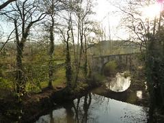 30017 (Jusotil_1943) Tags: rio nora puente colloto asturias reflejos