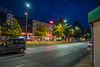 Częstochowa (nightmareck) Tags: twilight fuji dusk poland polska led handheld fujifilm bluehour częstochowa xe1 zmierzch oświetlenie śląskie xf18mm