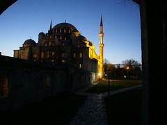 Istanbul Şehzade Mosque at Night (t.bo79) Tags: city light streets architecture night turkey licht nacht türkiye istanbul mosque illuminated türkei stadt cami camii beleuchtet moschee şehzade