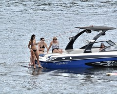 Babes on a Boat (Oliver Leveritt) Tags: girls water boat sigma 150 600 babes coloradoriver bikinis marblefallstexas 150600mm sigma150600 lakemarblefalls oliverleverittphotography sigma150600mmf563dgoshsm|s sportsigma sportnikond7100