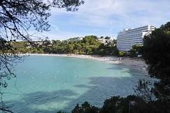 DSC_0206 (L.Karnas) Tags: sea beach strand island islands spain mediterranean playa menorca cala spanien minorca balearic inseln mittelmeer galdana balearische