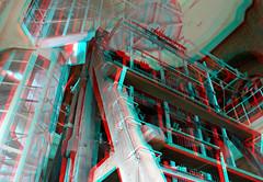 carillion Laurenstoren Rotterdam 3D (wim hoppenbrouwers) Tags: 3d rotterdam anaglyph stereo carillion klokken kerkklokken redcyan laurenstoren
