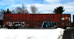 jase - begr (timetomakethepasta) Tags: up train graffiti pacific union boxcar ba freight jase cdc mecro begr