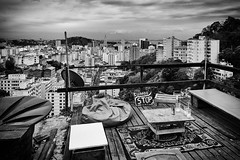 From the Roof (Mateus Carvalho |) Tags: world city travel brazil blackandwhite rooftop rio riodejaneiro view nikond70 tamron santateresa 2014 laje mateuscarvalho matuscarvalho