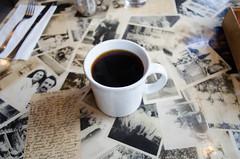 americana (Asher Isbrucker) Tags: seattle cup coffee breakfast newspaper washington cafe mug brunch americana capitolhill
