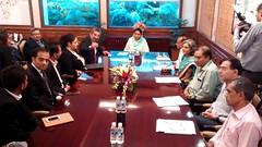 Had a Meeting with  Bahrain Business Council  - Harsimrat Kaur Badal (3) (harsimratkaur_badal) Tags: food india sad meeting business punjab development activities possibilities delegation foodprocessing hasimratkaurbadal