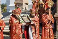 062. Patron Saints Day at the Cathedral of Svyatogorsk / Престольный праздник в соборе Святогорска