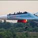 Sukhoi Su-30SM landing