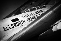 National Air and Space Museum (277/365) (andrew_hollingsworth) Tags: bw aircraft aviation project365 277365 sonya5100