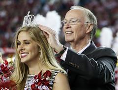 10-10-2015 Governor Bentley crowns UA Homecoming Queen