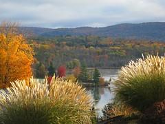 laurel lake (Eric.Ray) Tags: autumn colors digital canon outdoors explore lenox massachuettes