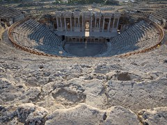 Turkey - great theatre of Hierapolis (alison ryde - back in town for now) Tags: world autumn holiday beauty turkey october turkiye september traveller explore voyager seeker phototrip turchia turkei 2015 emilywilson worldtraveller olympuscameras johngreengo alisonryde olympusem1