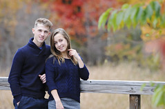 (irina_kra) Tags: life park autumn red portrait people orange color green fall love beautiful yellow him engagement couple bright navy young her nikond300
