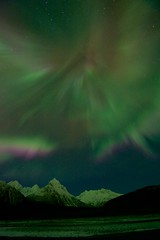 Meteorite Mountain Aurora (wolphcry) Tags: alaska aurora valdez northernlights thompsonpass
