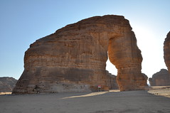 Elephant rock in Mada'in Saleh (kineky1) Tags: world elephant rock desert natural wanderlust saudi arabia wonders saleh madain