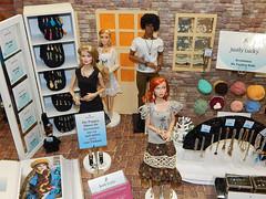 Fashion Doll Brse Kln 2015 (Levitation_inc.) Tags: fashion shop design doll handmade levitation cologne meeting kln convention presentation brse 2015 shoppingmeile