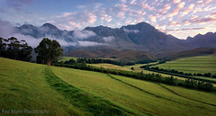 The Happiest Photographer in the World (Panorama Paul) Tags: mountains grass sunrise southafrica farm westerncape overberg greyton nikkorlenses nikfilters nikond800 wwwpaulbruinscoza paulbruinsphotography theoaksestate