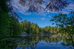 Wonderful Lake (anbjornhansen) Tags: lake norway wonderful iso100 sony peaceful f56 16mm porsgrunn telemark håøya 1320sec α6000 blåbærmyrdammen