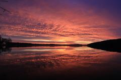 Just one of those sunsets..... (SamSpade...) Tags: blue sunset red house lake weather yellow skyline clouds reflections horizon perspective 577 sunsetsunrise 6321 exemplaryshots breathtakinglandscapes sunsetoverthelake contactgroups 151115