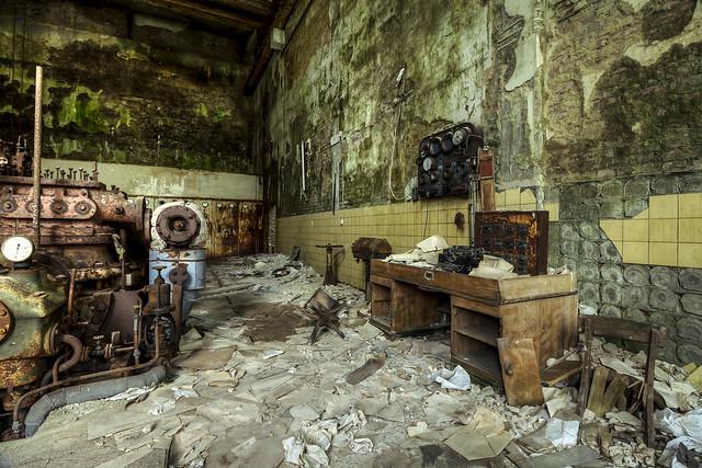 paper factory upper floor generator