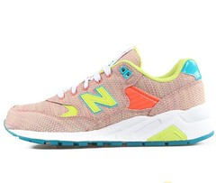 NB WRT580SP Women New Balance 580 Ice Sand Retro Peach Green Sneaker (RobertThrashy) Tags: shopping discount cheap runningshoes coupon womensshoes retrostyle onlinestore newbalance580 fashionsneakers popularshoes