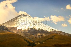 Cotopaxi Volcano Violent Explosion (kalypsoworldphotography) Tags: above park blue sky moon mountain snow southamerica closeup neck landscape volcano high ecuador day risk cone outdoor explosion wide peak gas glacier clear highland national crater disaster summit andes second ash geology activity dust unrest volcanic erupt slope cotopaxi active andean cinder highest exploding stratovolcano