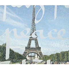 peace (ewaldmario) Tags: world abstract paris france tower art glass architecture hope ledefrance peace sad view symbol eiffeltower artificial eiffel human toureiffel tribute through write eifelturm solidarite solidary forpeace ladamedefer ewaldmario prayforparis jesuisparis
