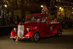 Kannapolis Christmas parade3 (Poole-shooter Cindi) Tags: christmas holiday christmastree parade christmaslights vehicle oldtruck redtruck kannapolis cabarruscounty onelongparade wasitevergoingtoend